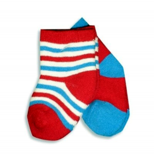 Red White Blue Infant Sock Set