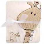 Soft Giraffe Baby Blanket